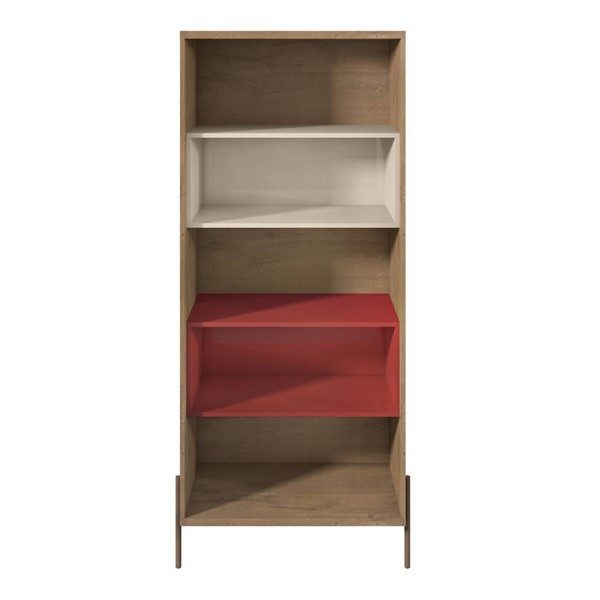 Manhattan Comfort Joy 5 Shelf Bookcases MHC-35062-BK-VAR
