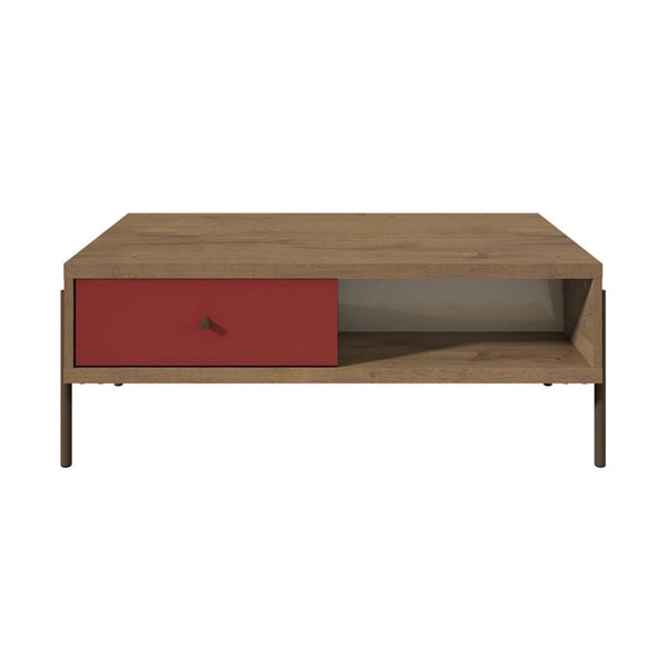 Manhattan Comfort Joy Double Sided 2 Drawer End Tables MHC-35064-CT-VAR