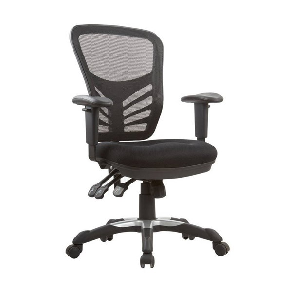 Gouvernor Black Executive Mesh High-Back Adjustable Office Chair MHC-MC-616