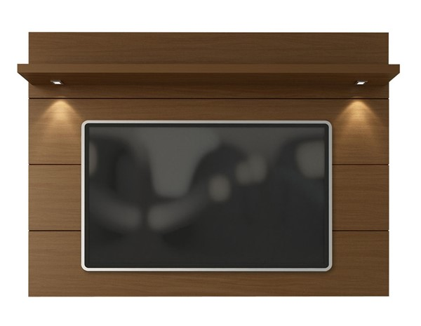 Manhattan Comfort Cabrini Nut Brown Floating Wall TV Panel 1.8 MHC-82251