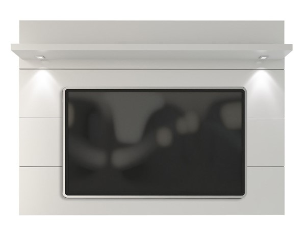 Manhattan Comfort Cabrini White Floating Wall TV Panel 1.8 MHC-82252