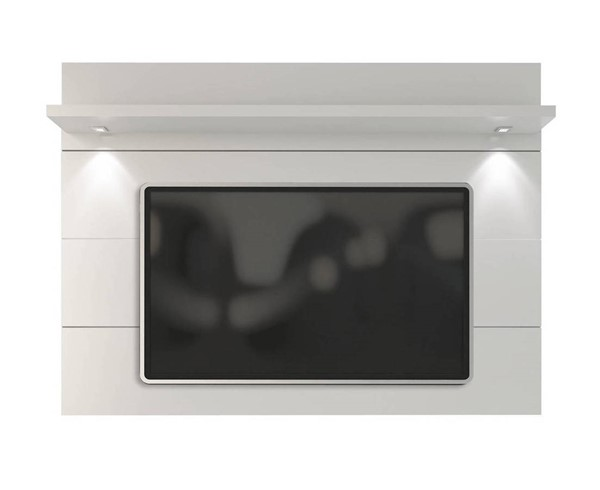 Manhattan Comfort Cabrini White Floating Wall TV Panel 2.2 MHC-82352