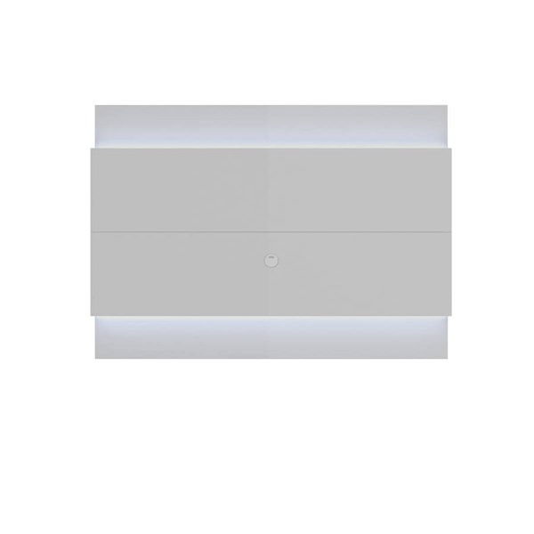 Manhattan Comfort Lincoln 1.9 LED Lights Floating Wall TV Panels MHC-8395-TS-VAT