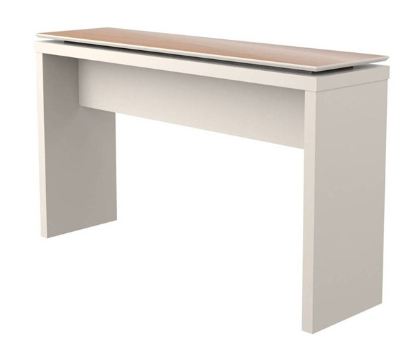 Manhattan Comfort Lincoln Off White Sled Base Sideboard MHC-89751