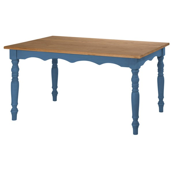 Manhattan Comfort Jay Blue Dining Table MHC-CS15201