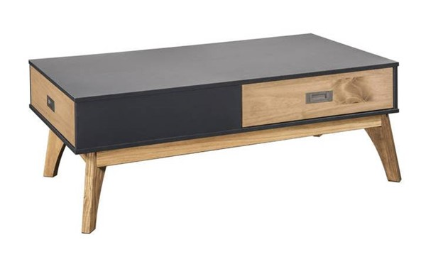 Manhattan Comfort Jackie Dark Grey Natural 2.0 Coffee Table MHC-CS96509