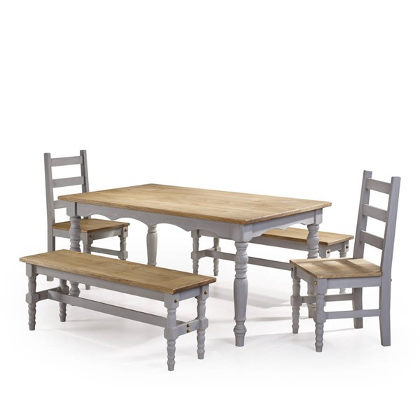 Manhattan Comfort Jay Gray 5pc Dining Room Set MHC-CSJ205