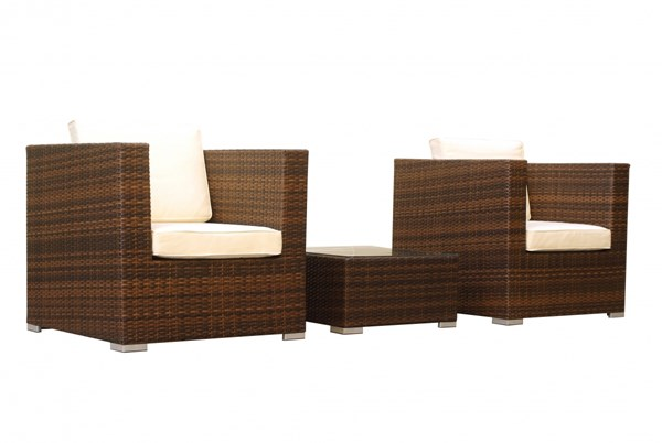 Margate Modern PE Rattan Wicker 3pc Outdoor Sofa Sets MHC-MC103-OUT-SF-VAR