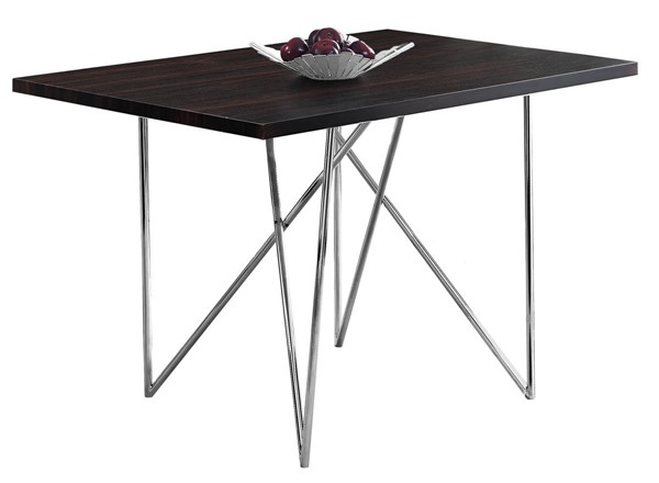 Monarch Specialties Cappuccino Dining Table MNC-I-1039