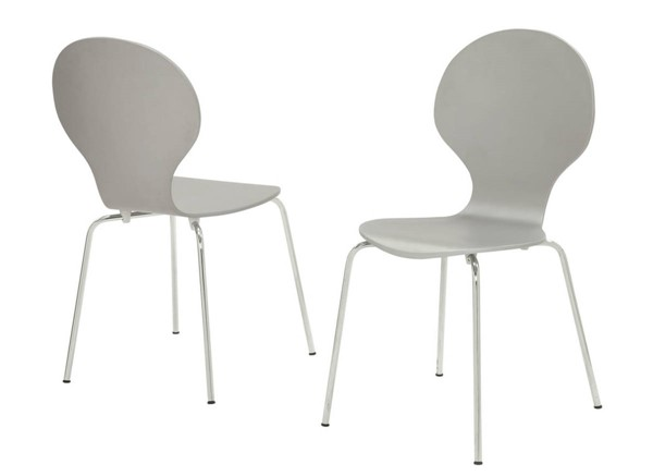 Monarch Specialties Grey Dining Chairs MNC-I-1047-DCH-VAR