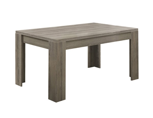 Monarch Specialties Taupe Laminate MDF Dining Table MNC-I-1055