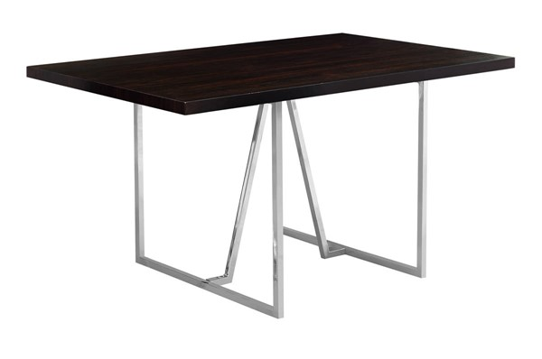 Monarch Specialties Cappuccino Rectangle Dining Table MNC-I-1064