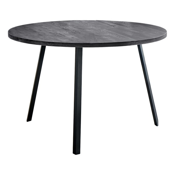 Monarch Specialties Black 48 Inch Dining Table MNC-I-1153