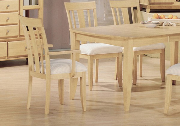 2 Monarch Specialties Cream Dining Chairs MNC-I-1520