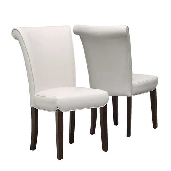 2 Monarch Specialties Taupe Cappuccino Dining Chairs MNC-I-1666TP