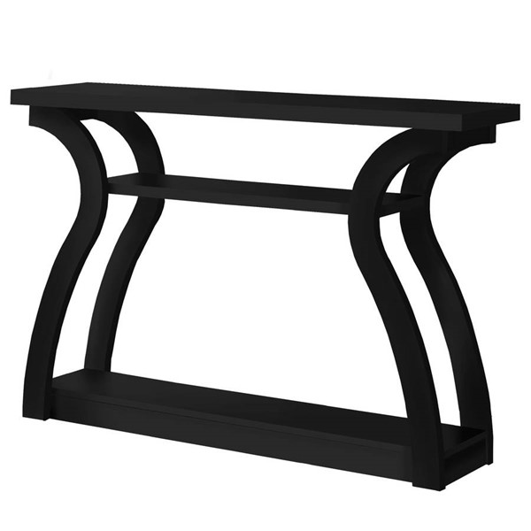 Monarch Specialties Black Hall Console Table MNC-I-2439