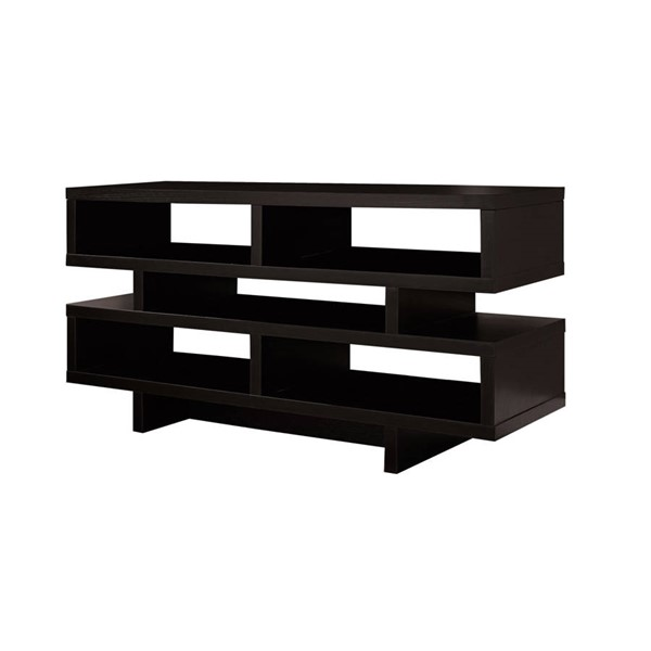 Monarch Specialties Cappuccino TV Stand MNC-I-2460
