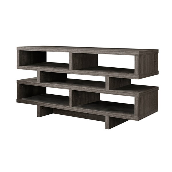 Monarch Specialties Taupe TV Stand MNC-I-2462
