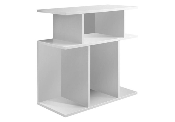 Monarch Specialties White MDF Accent End Table MNC-I-2475