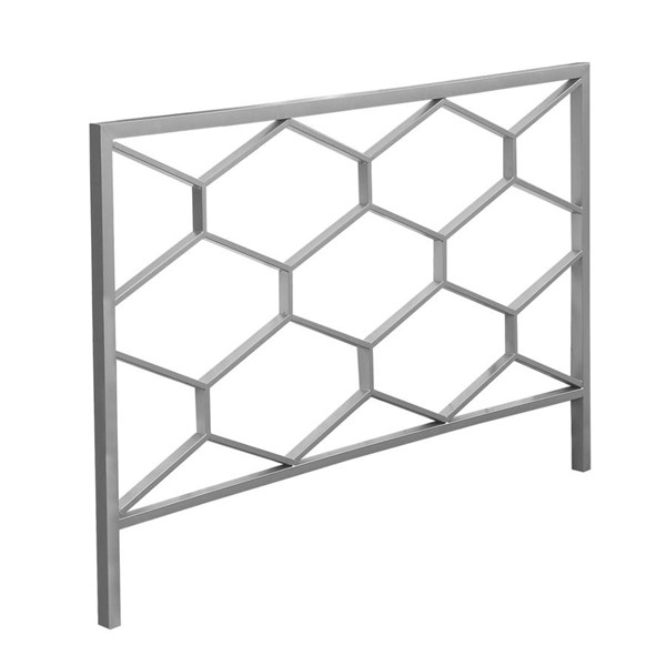 Monarch Specialties Silver Queen Full Headboard or Footboard MNC-I-2626Q