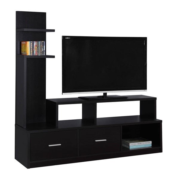 Monarch Specialties Cappuccino MDF Plastic TV Stands MNC-I-2695-TS-VAR
