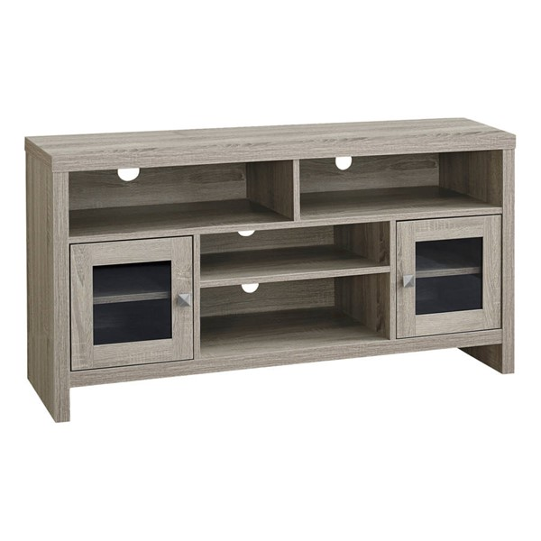 Monarch Specialties Taupe MDF TV Stand MNC-I-2705