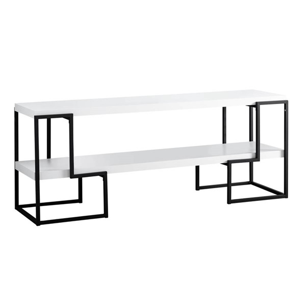 Monarch Specialties White MDF TV Stand MNC-I-2731