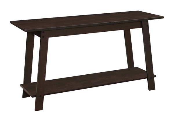 Monarch Specialties Cappuccino Open Storage TV Stands MNC-I-2735-TS-VAR