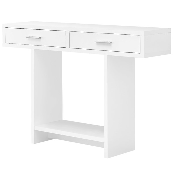 Monarch Specialties White 48 Inch Accent Table MNC-I-2812