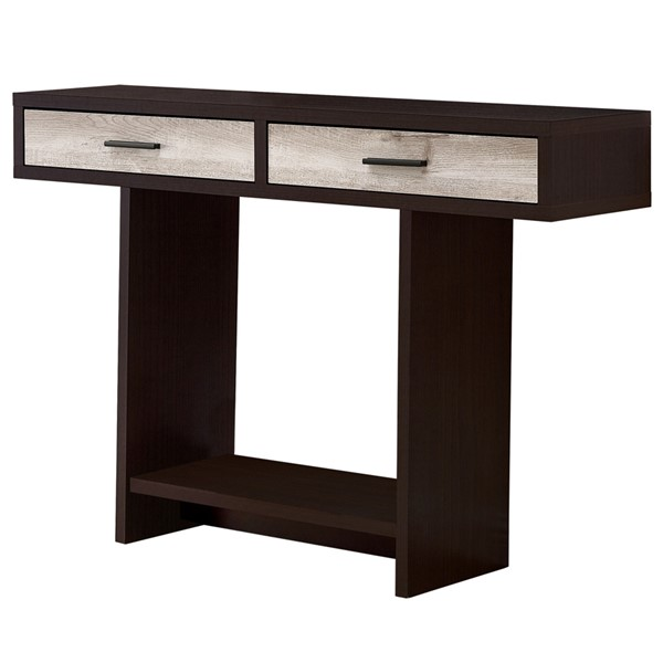 Monarch Specialties Cappuccino Taupe Accent Table MNC-I-2817