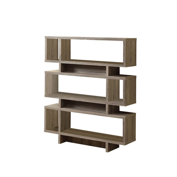 Monarch Specialties Taupe Laminate MDF Bookcase MNC-I-3251