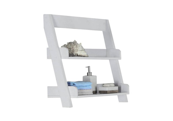 Monarch Specialties White MDF Wall Mount Bathroom Accent MNC-I-3439