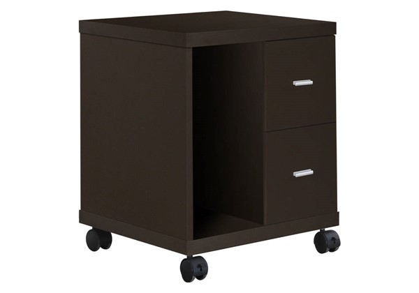 Monarch Specialties Cappuccino MDF Office Cabinets MNC-I-7004-FC-VAR