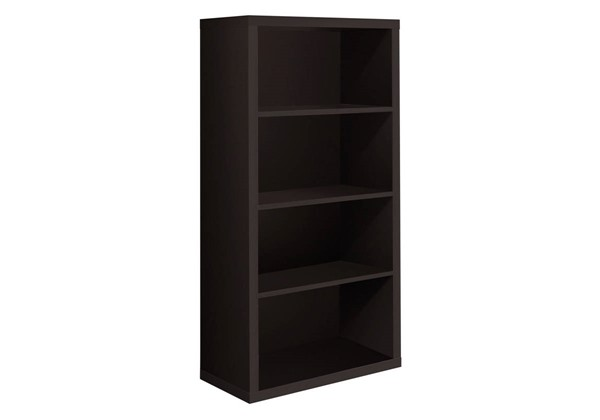 Monarch Specialties Cappuccino MDF Adjustable Shelves Bookcases MNC-I-7005-BC-VAR