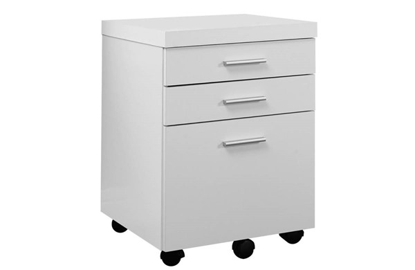 Monarch Specialties White MDF Filing Cabinets MNC-I-7048-FC-VAR