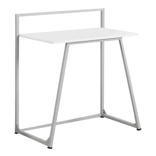 Monarch Specialties White MDF Metal Computer Desk MNC-I-7110