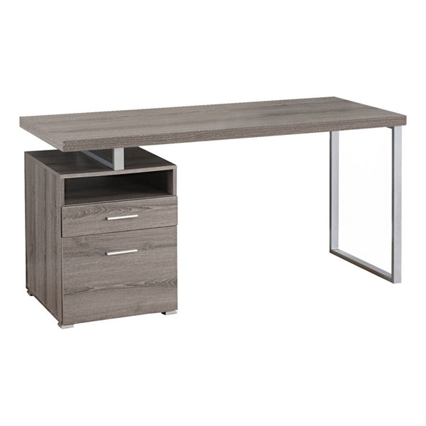 Monarch Specialties Taupe Rectangle Computer Desk MNC-I-7145