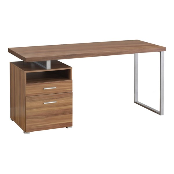 Monarch Specialties Walnut Rectangle Computer Desk MNC-I-7146