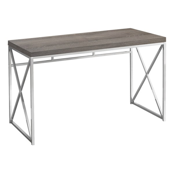 Monarch Specialties Taupe Computer Desk MNC-I-7204