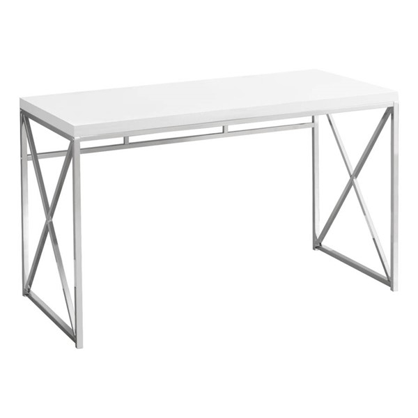 Monarch Specialties White Computer Desk MNC-I-7205