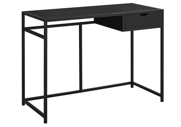 Monarch Specialties Black Metal Computer Desk MNC-I-7220