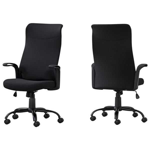Monarch Specialties Black Office Chair MNC-I-7248