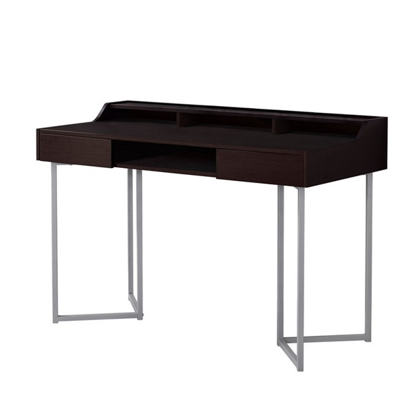 Monarch Specialties Contemporary Cappuccino Computer Desk MNC-I-7362