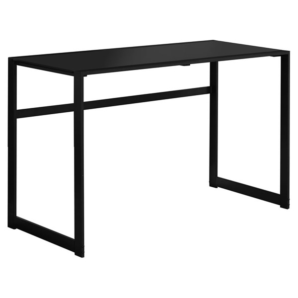 Monarch Specialties Modern Black Metal Computer Desk MNC-I-7379