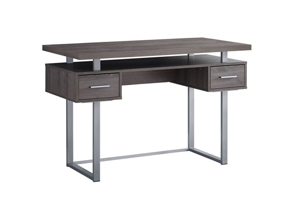 Monarch Specialties Taupe Computer Desk MNC-I-7384