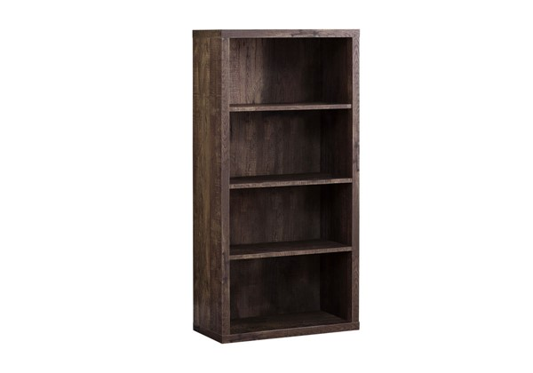 Monarch Specialties Adjustable Shelves Bookcases MNC-I-7404-BK-VAR