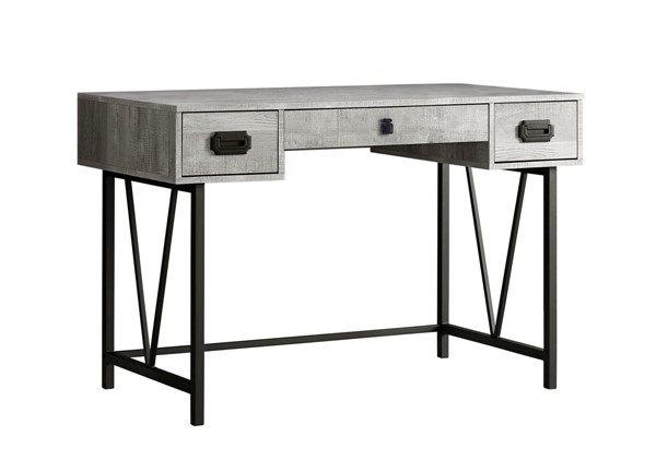 Monarch Specialties Grey 48 Inch Computer Desk MNC-I-7413