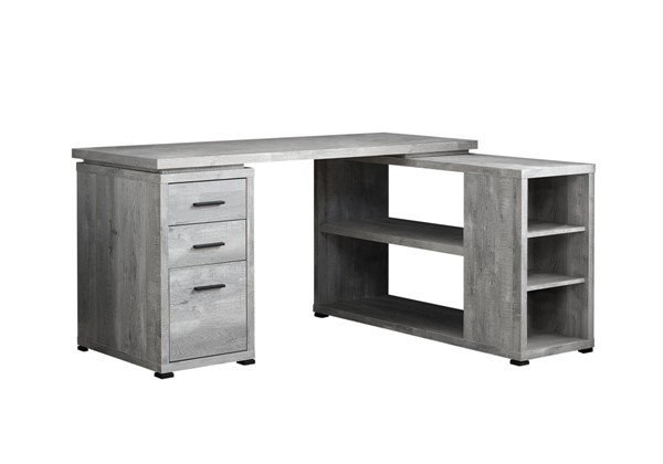 Monarch Specialties Grey Corner Computer Desk MNC-I-7421