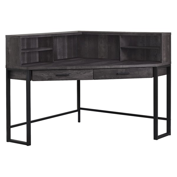 Monarch Specialties Black Wood 48 Inch Computer Desk MNC-I-7517