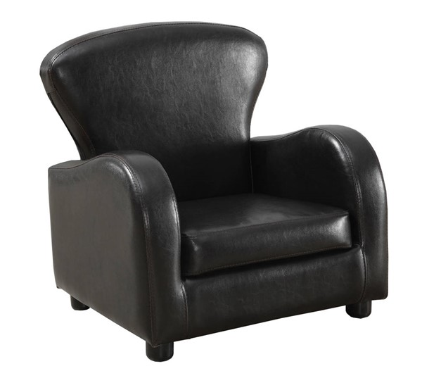 Monarch Specialties Brown Leather Juvenile Chair MNC-I-8140